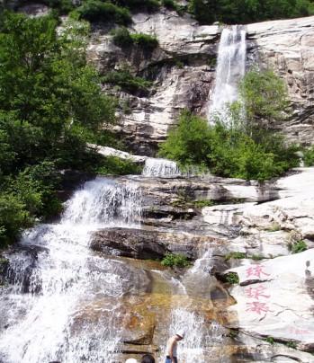 壁纸 风景 旅游 瀑布 山水 桌面 349_404